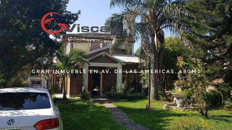 VENDO HERMOSA CASA 4 DORM. 3 BAÑOS. 480m2