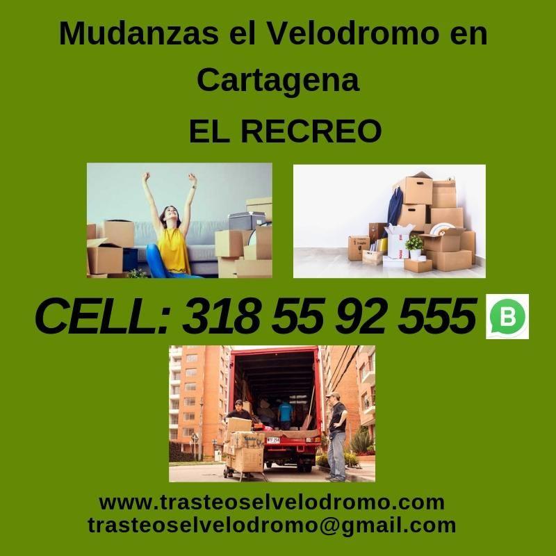 Mudanzas el Velodromo en Cartagena en El Recreo