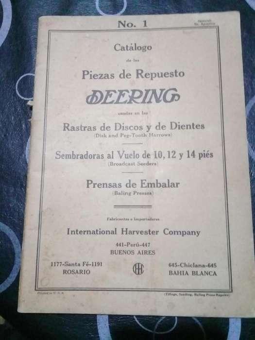 Manual De Rastras De Disco Y De Dientes Deering