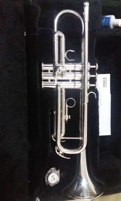 Vendo <strong>trompeta</strong> Yamaha 3335 Casi Nuevatro
