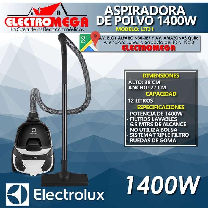 <strong>aspiradora</strong> De Polvo Electrolux 1300w Sin Bolsa Lit31