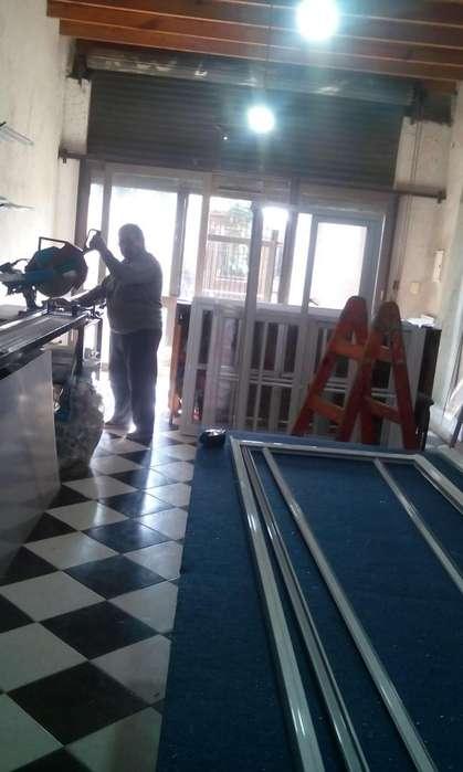 VENTANAs ºABERTURAS de Aluminio Fabrica a medida / lineas HERRERO Y MODENA