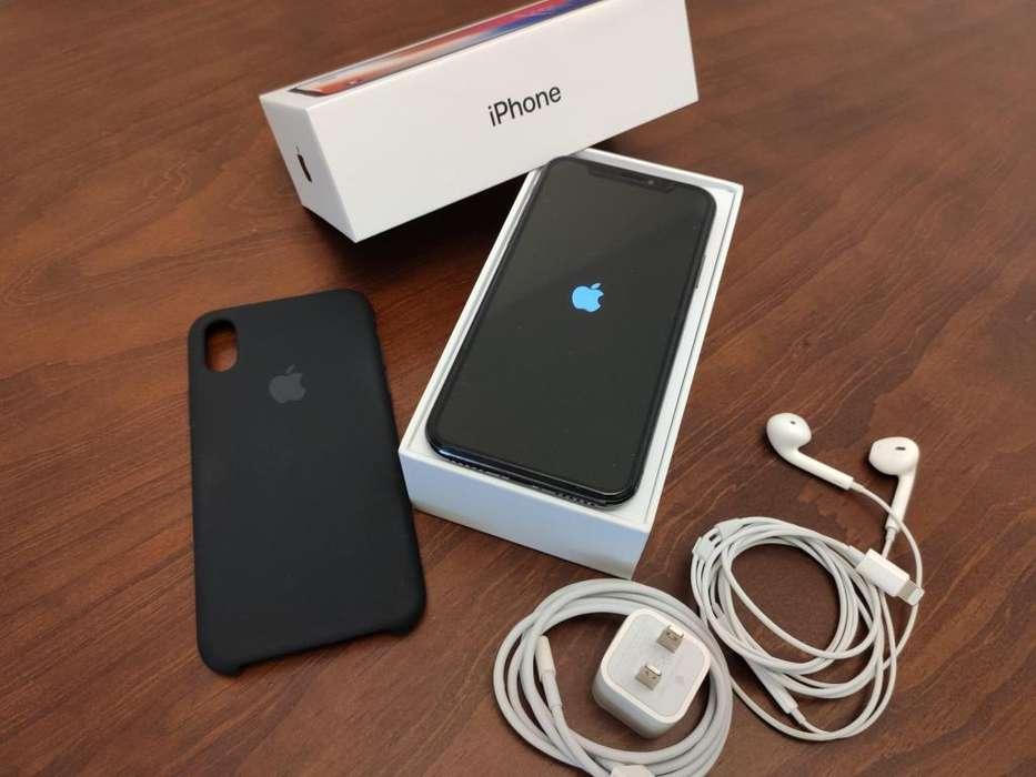 iPHONE X 64GB COMO NUEVO LIBERADO