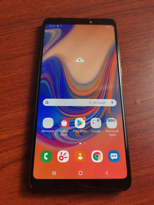 VENDO Samsung A9 2018 128GB LIBRE IMPECABLE