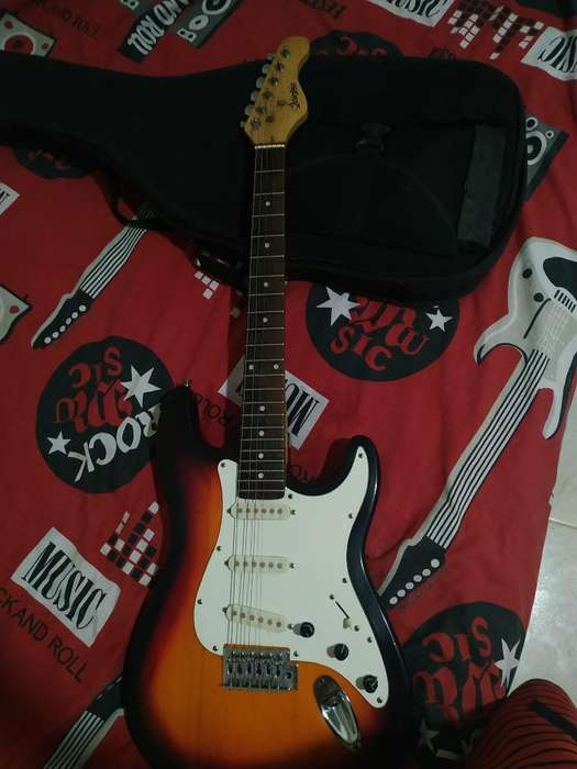 Vendo Guitarra Electrica Muy Bonita 8/10