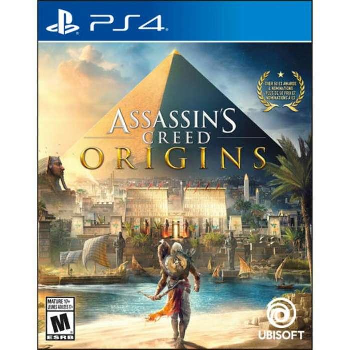 Juego Ps4 Assassins Creed Origins Nuevo