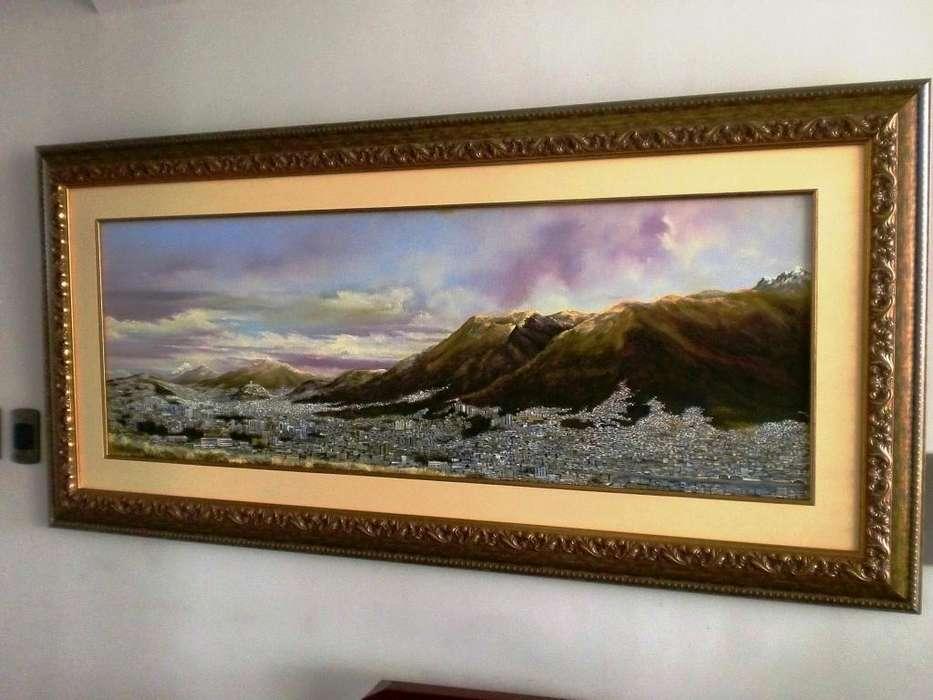 Cuadro Quito Desde El Inca De Inty