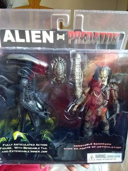 Figura de Accion Aliens Vs Predator Neca