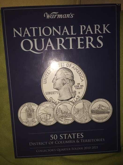 en venta albun monedas quarter