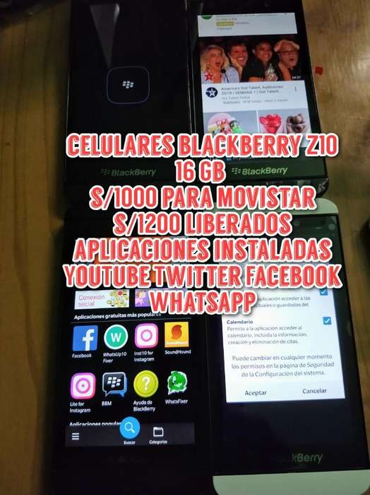 Celulares Blackberry Z10