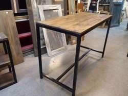 estanterias comerciales mesas y mucho mas en hierro y madera