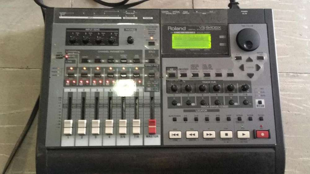 Estudio Digital Roland Workstation Vs840gx Usado