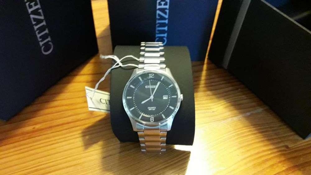 Reloj <strong>citizen</strong> Bd004189e original 100 acero nuevo con garantía