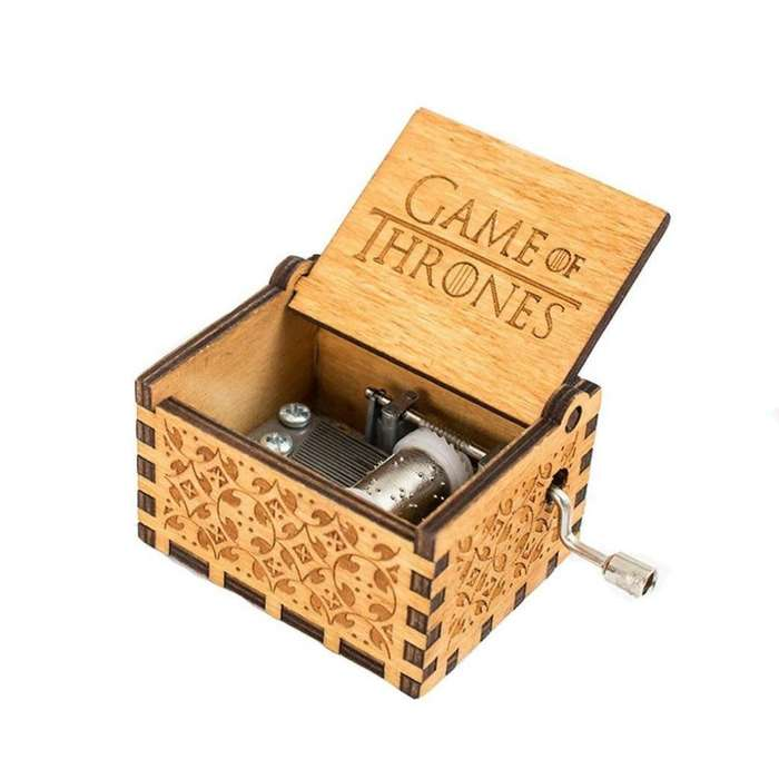 Caja Musical Game Of Thrones Y Harry Pot