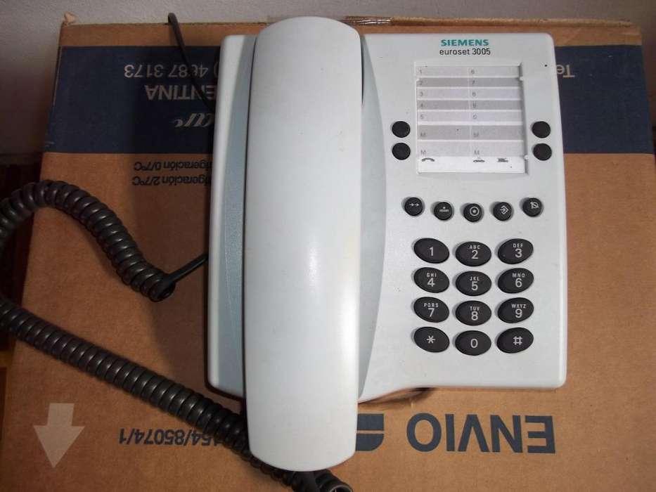 Telefono comun marca siemens nuevo a estrenar