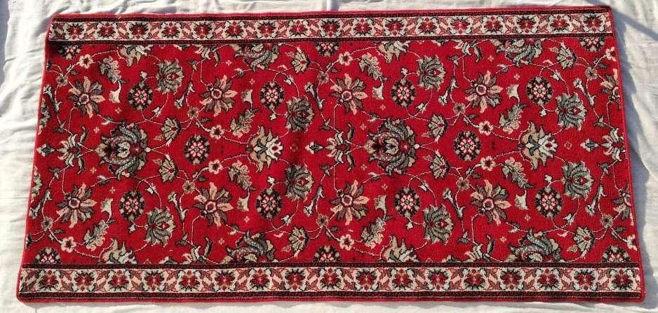 Alfombra Imitación Persa Rojo