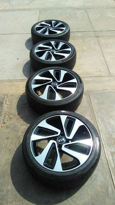 Ve Do Aros 17 Kia Rio con Llantas