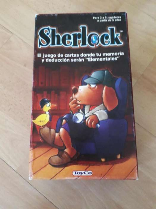 Sherlock. Juego de Cartas