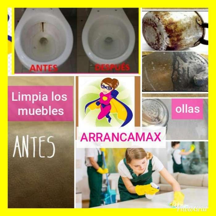 Brillas Las Ollas, Desmancha El Sanitari