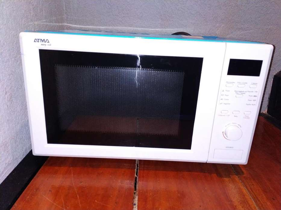 Horno <strong>microondas</strong> Atma Md1728ge 28 Litros Digital C/grill