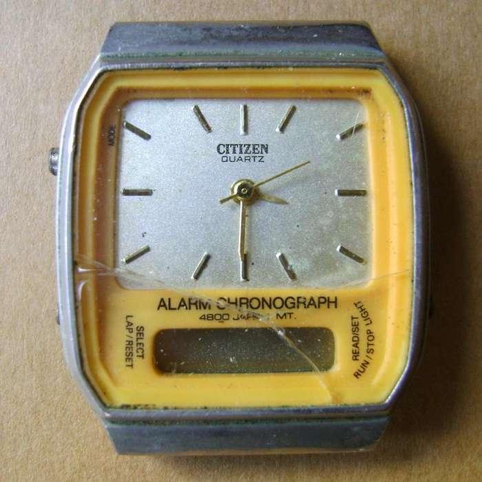 Antiguo Reloj <strong>citizen</strong> Chronograph a reparar o repuestos / Maxim Nord