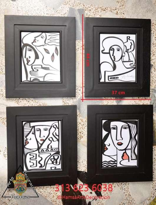4 cuadros de abiezer
