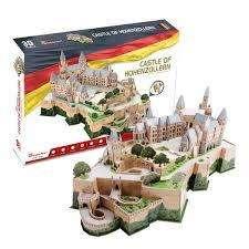 Rompecabezas 3d Castle of Hohenzollern Germany MC232h x 185 Piezas
