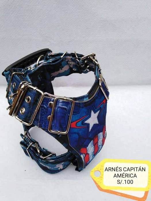 Pechera Capitán América, Arnés Perro