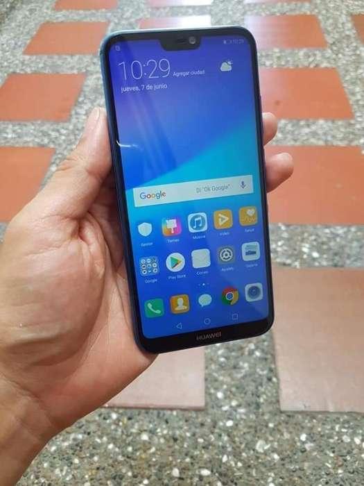 Huawei P20 Lite Azul 32 Gb Como Nuevo