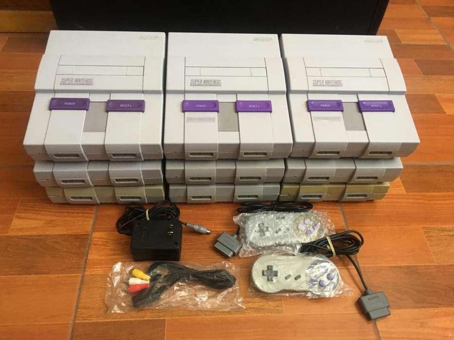Consolas Super Nintendo / Snes accesorios Completos