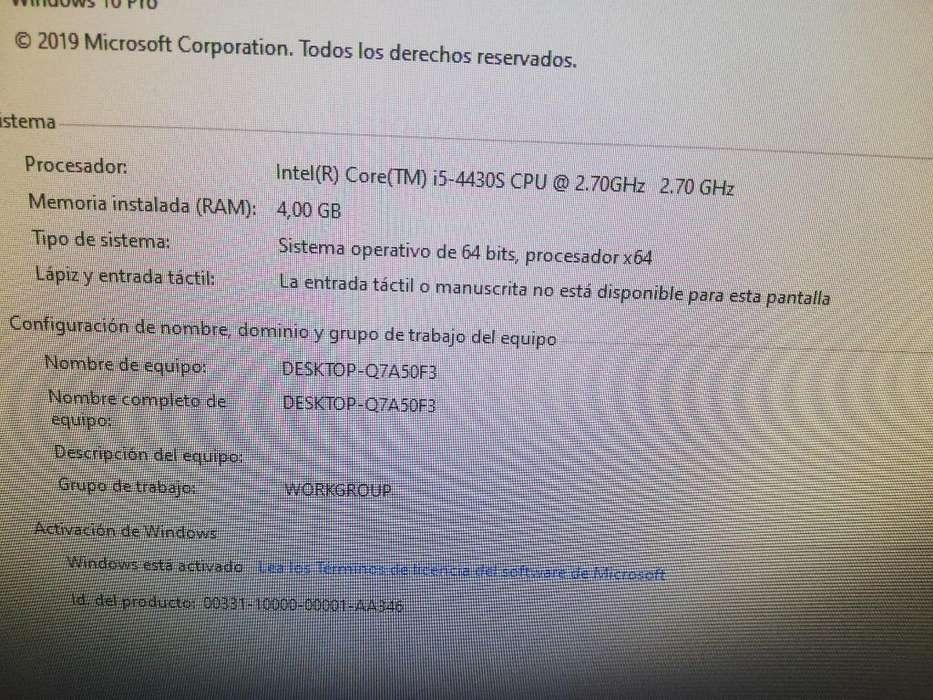 Todo en 1 Lenovo Corei5