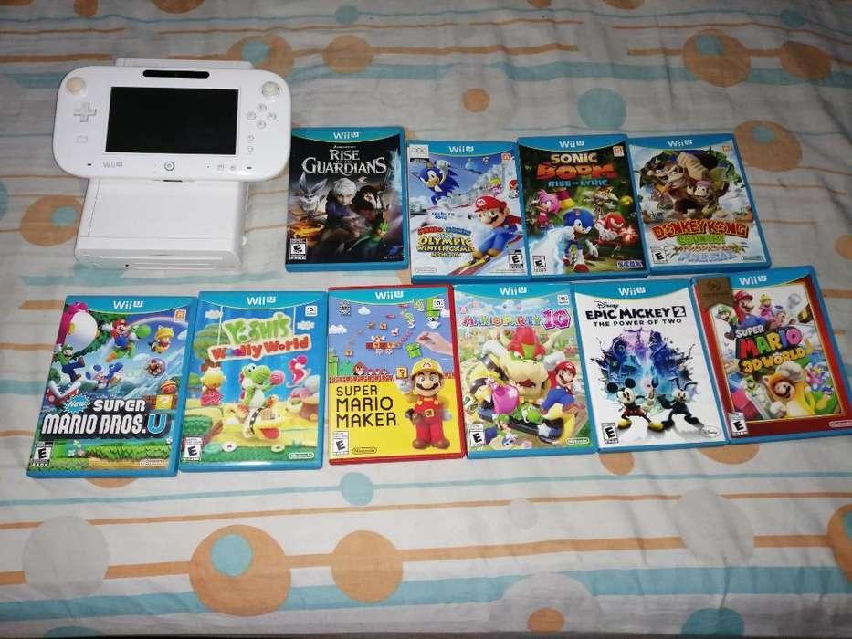 Wii U 10 Juegos Originales