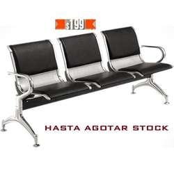 Oferta silla de espera tandem 3 asientos