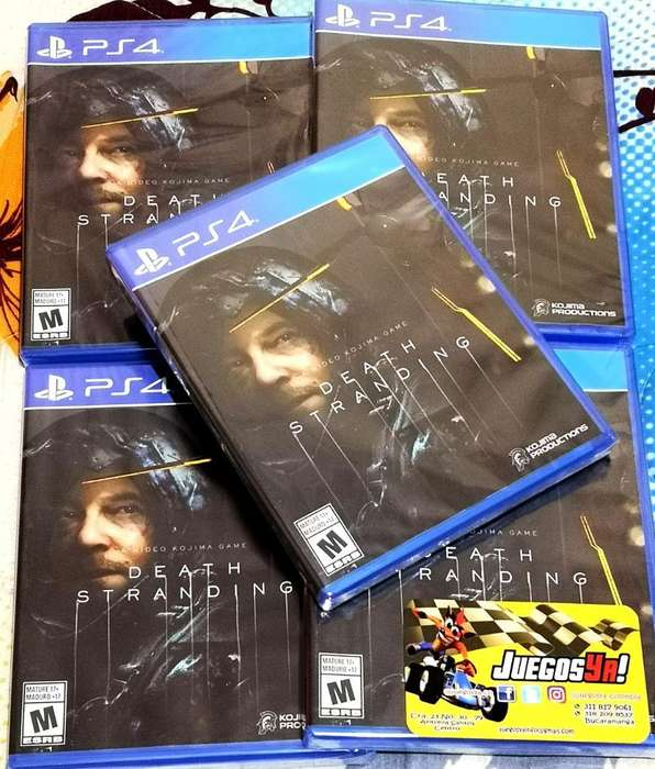 Death Stranding Ps4 Disponible