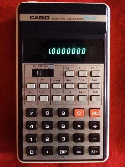 Vendo calculadora Vintage Casio Fx 31