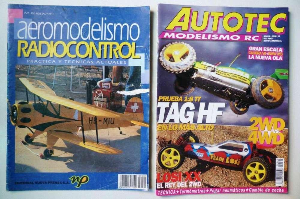 Lote Revistas Modelismo RC
