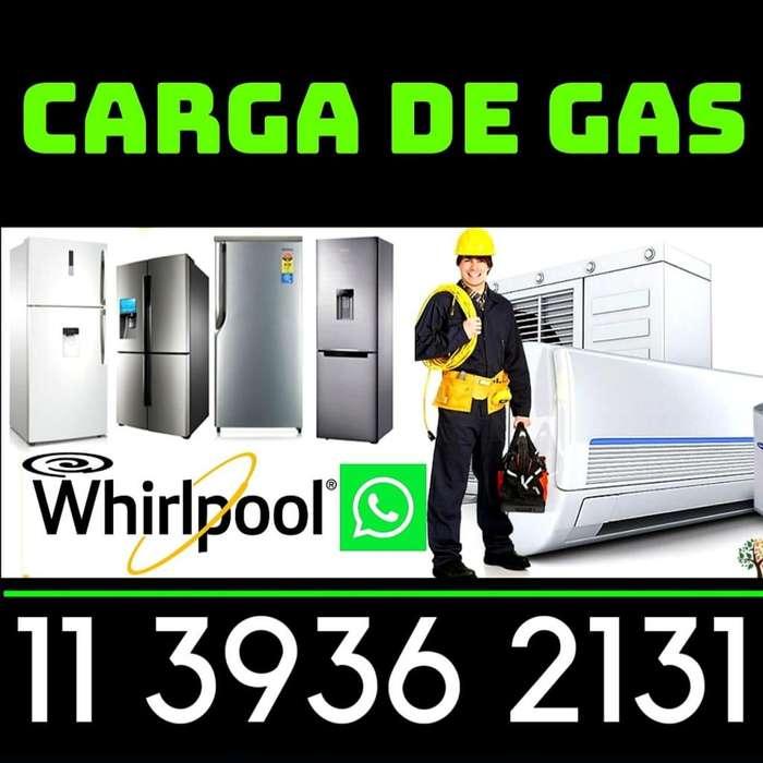 service heladeras carga de gas reparación técnico a domicilio