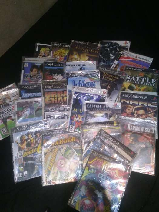 40 Juegos Playstation 2 Usados