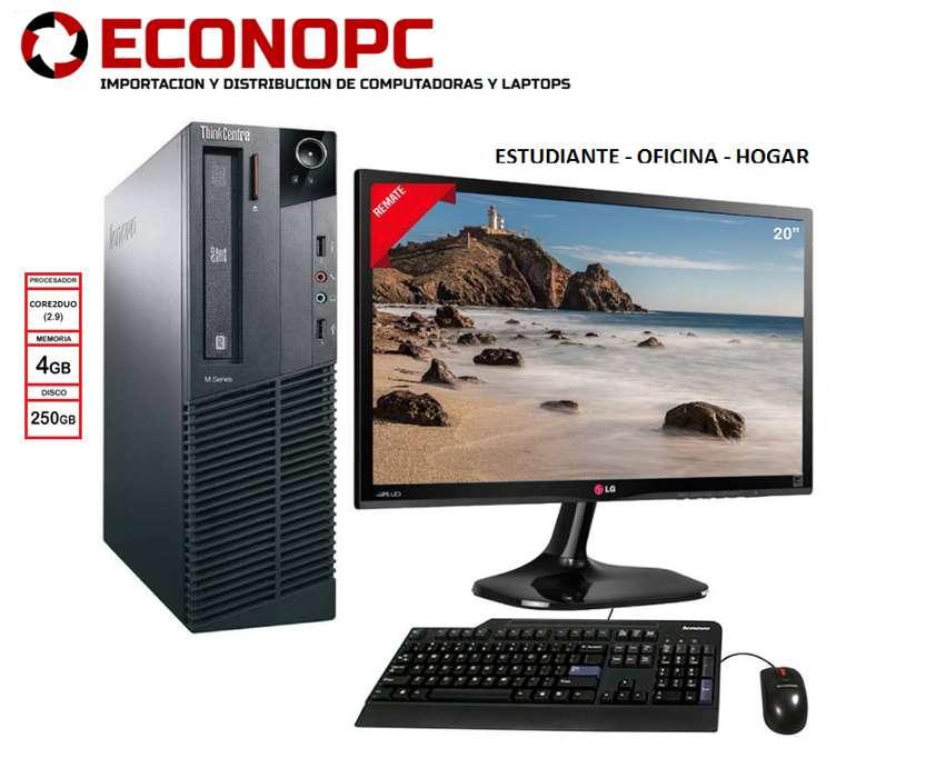 REMATE! COMPUTADORAS NUEVAS/SEMI NUEVAS CON GARANTÍA HP/DELL/LENOVO