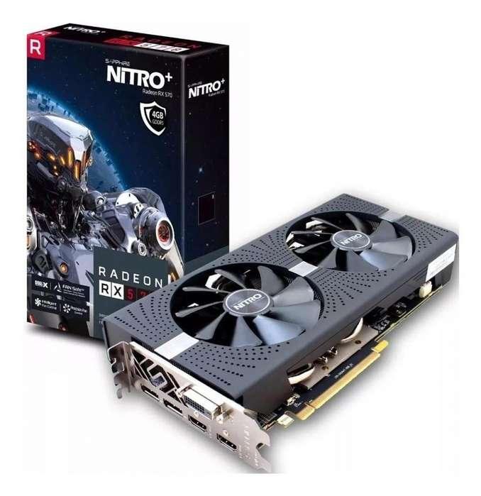 Tarjeta grafica GPU rx570 8gb sapphire