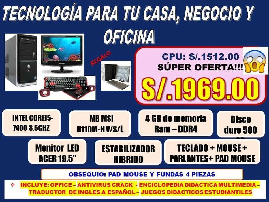 PC INTEL INTEL COREI5-7400 3.5GHZ