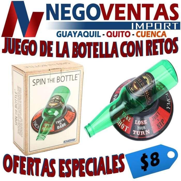 JUEGO DE LA BOTELLA CON RETOS
