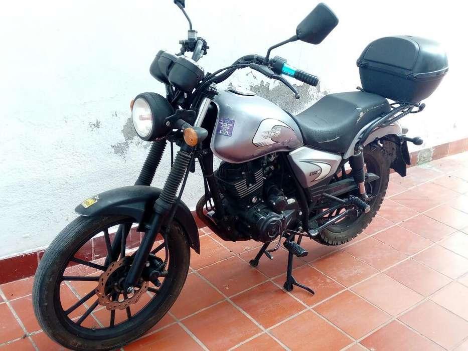 Vendo Moto Ics 150 Año 2015