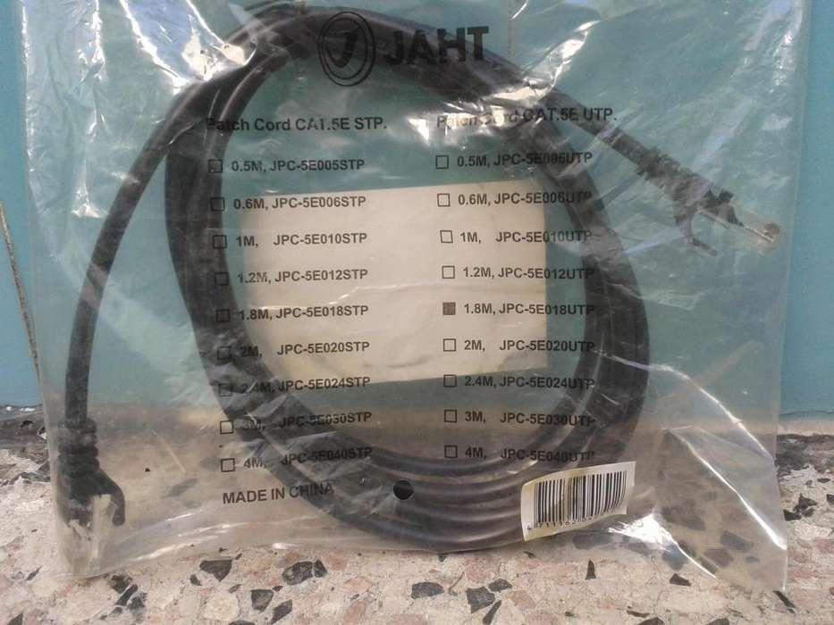 cable de red nuevo 1,80 m