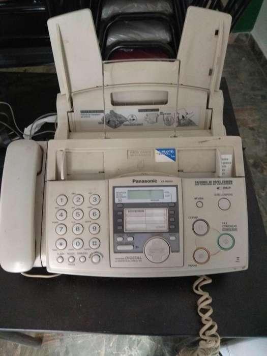 Teléfono Fax Impre <strong>panasonic</strong> Kx-fhd353