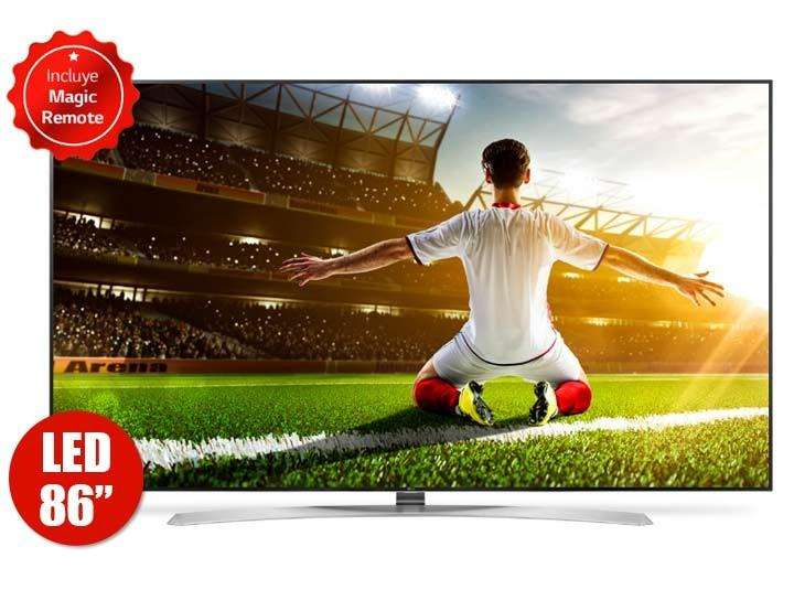 LG 86 SUPER UHD 4K SMART TV CONTROL MAGIC