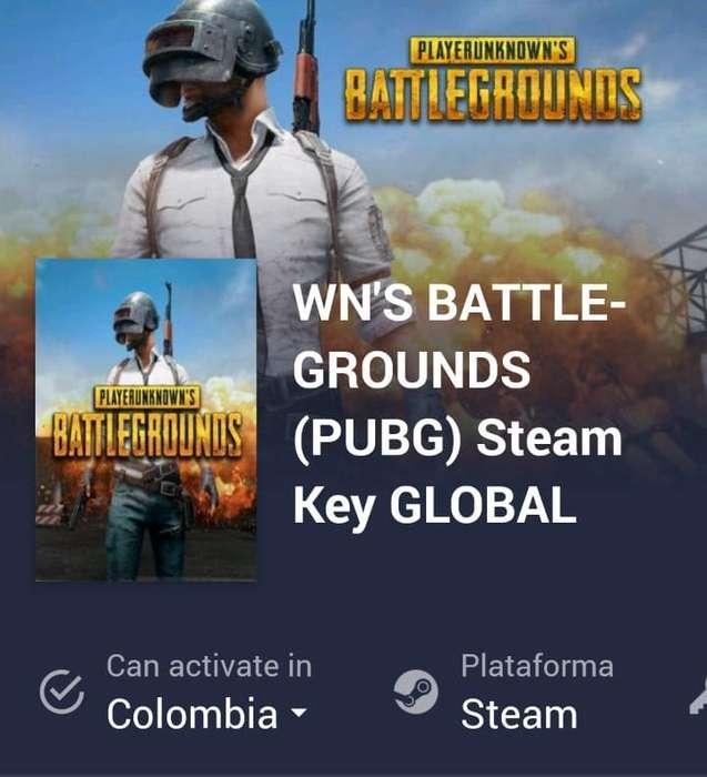 Código de juego del playerunknown's battlegrounds (PUBG).