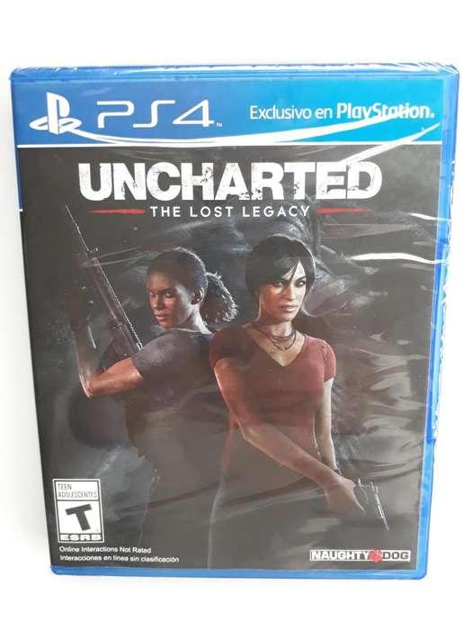 Uncharted The Lost Legacy Juego Ps4 Sellado En Español