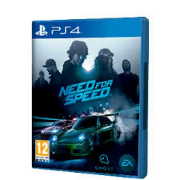 Juego Need For Speed para Ps4