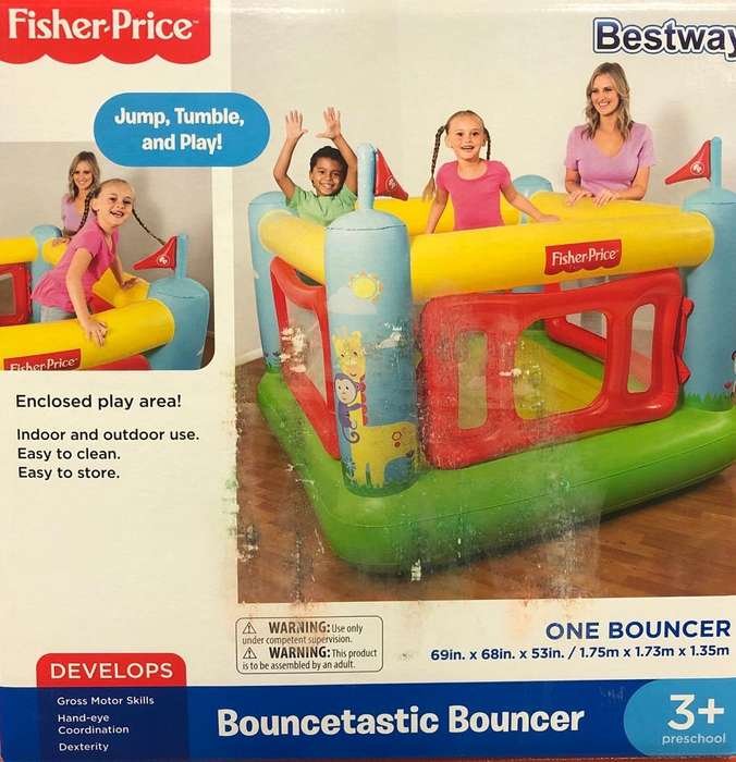 Castillo Inflable Fisher Price Niños 3
